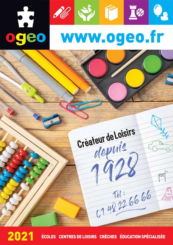 OGEO -TOUTES LES NOUVEAUTES 2021